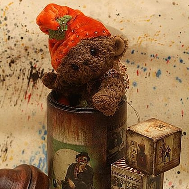 """Для дома и интерьера ручной работы. Ярмарка Мастеров - ручная работа """"Куда уехал цирк?"""" - афишная тумба. Handmade."""