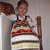 Работы для детей, ручной работы. Ярмарка Мастеров - ручная работа Костюм  в фольклорном стиле. Handmade.