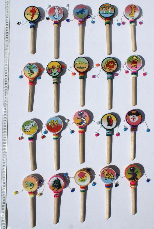 Ударные инструменты ручной работы. Ярмарка Мастеров - ручная работа. Купить Ручные детские барабанчики с рисунками, персонажами мультфильмов. Handmade.