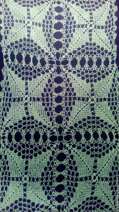 Текстиль, ковры ручной работы. Салфетка