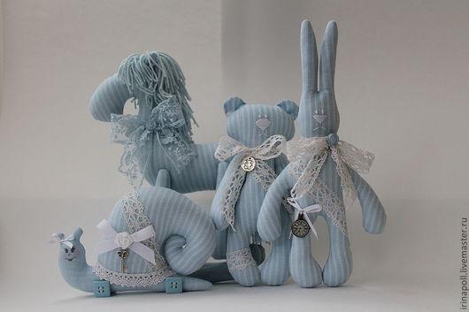 """Детская ручной работы. Ярмарка Мастеров - ручная работа. Купить Комплект для детской """" Голубые мечты"""". Handmade. Голубой"""
