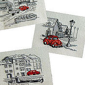 Картины и панно ручной работы. Ярмарка Мастеров - ручная работа Один день из жизни  машинки.... Handmade.