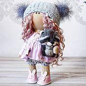 Тыквоголовка ручной работы. Ярмарка Мастеров - ручная работа Текстильная куколка. Handmade.