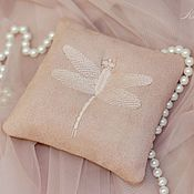Свадебный салон handmade. Livemaster - original item pillow for the rings. Handmade.