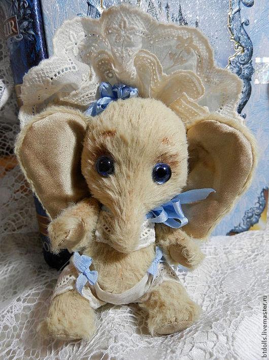 Мишки Тедди ручной работы. Ярмарка Мастеров - ручная работа. Купить слонечка Babe. Handmade. Желтый, слоники, авторская работа