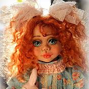 Куклы и игрушки ручной работы. Ярмарка Мастеров - ручная работа Лика и зайка. Handmade.