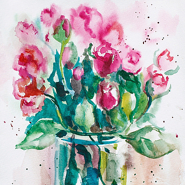 Картины и панно ручной работы. Ярмарка Мастеров - ручная работа Roses. Handmade.