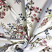 Материалы для творчества handmade. Livemaster - original item Fabric: Cotton stretch dress and blouse. Handmade.