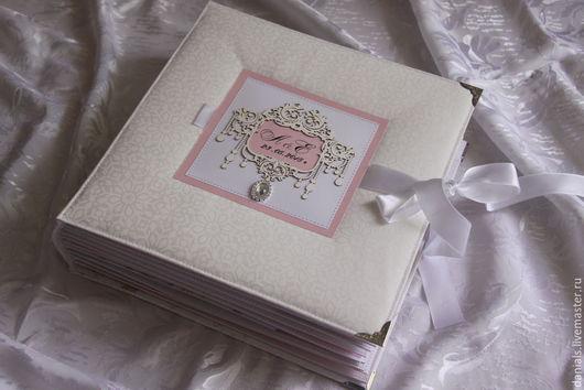 Свадебные фотоальбомы ручной работы. Ярмарка Мастеров - ручная работа. Купить Свадебный альбом. Handmade. Разноцветный, альбом ручной работы