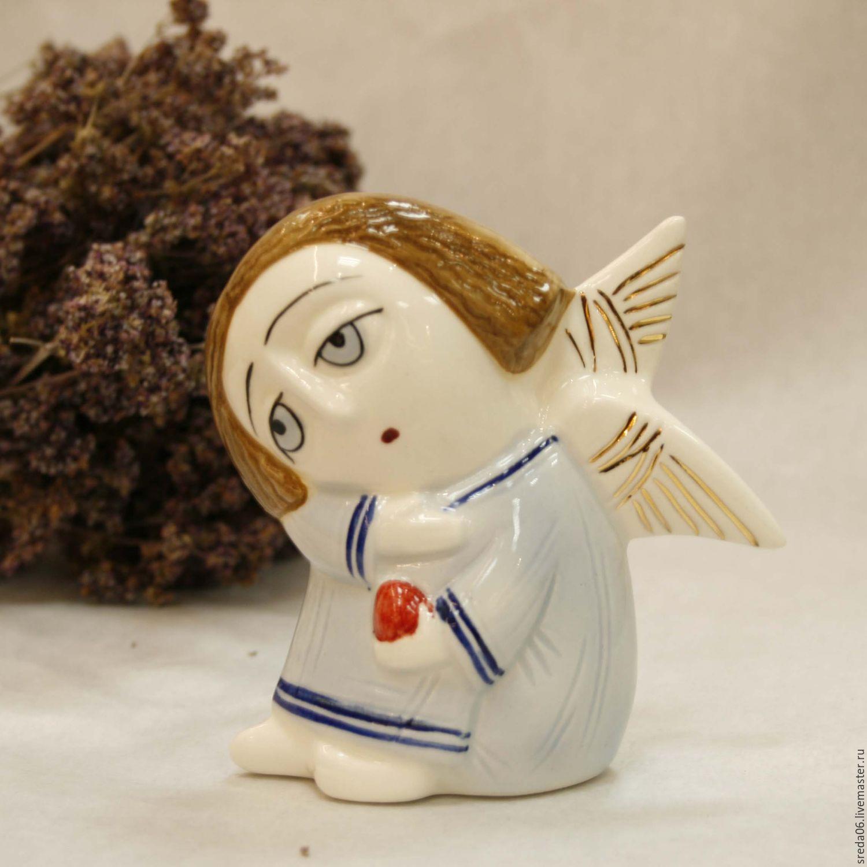 Buy porcelain angel with an easter egg easter gift on livemaster porcelain angel with an easter egg easter gift negle Gallery