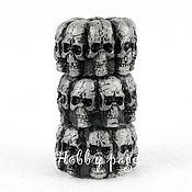 Материалы для творчества handmade. Livemaster - original item Silicone mold for soap totem of skulls. Handmade.
