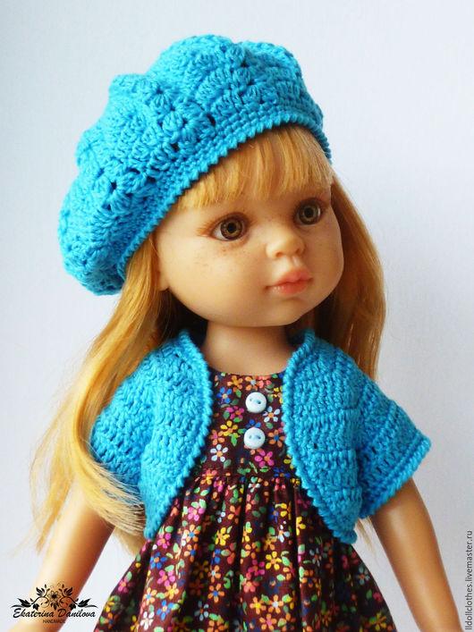 Одежда для кукол ручной работы. Ярмарка Мастеров - ручная работа. Купить Продано Осенний комплект для куклы Paola Reina. Handmade.