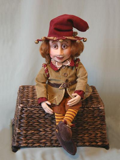 Коллекционные куклы ручной работы. Ярмарка Мастеров - ручная работа. Купить Кукла Гном. Handmade. Интерьерная кукла, эксклюзивный подарок