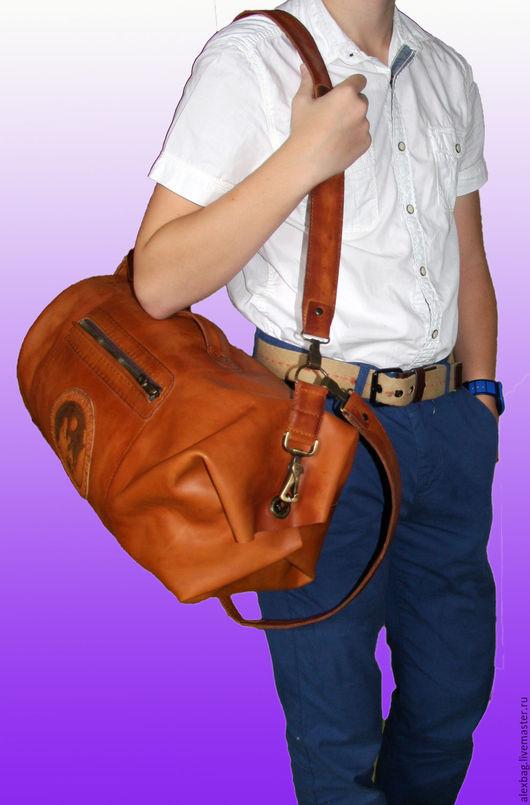 Рюкзаки ручной работы. Ярмарка Мастеров - ручная работа. Купить Торба сумка Милитари. Handmade. Кожа, сумка на каждый день