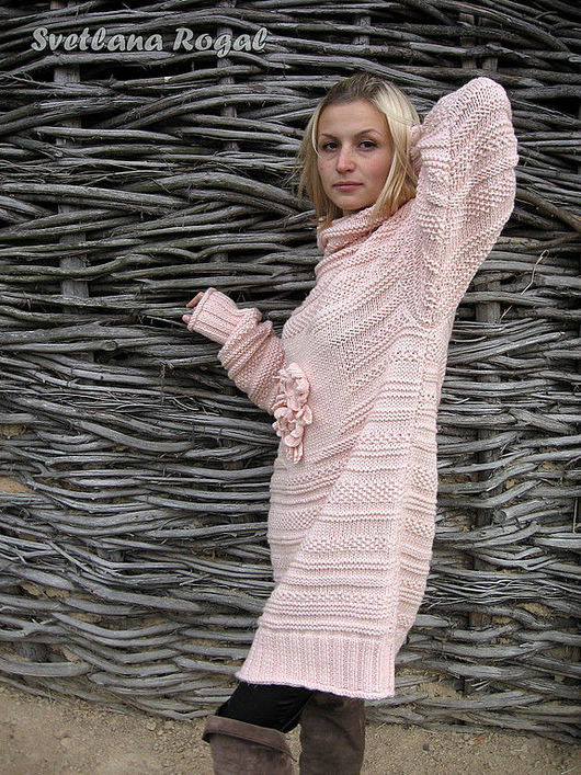 """Кофты и свитера ручной работы. Ярмарка Мастеров - ручная работа. Купить """"РОМАНТИЧНЫЙ"""" - само. Handmade. Вязание спицами, вязание"""