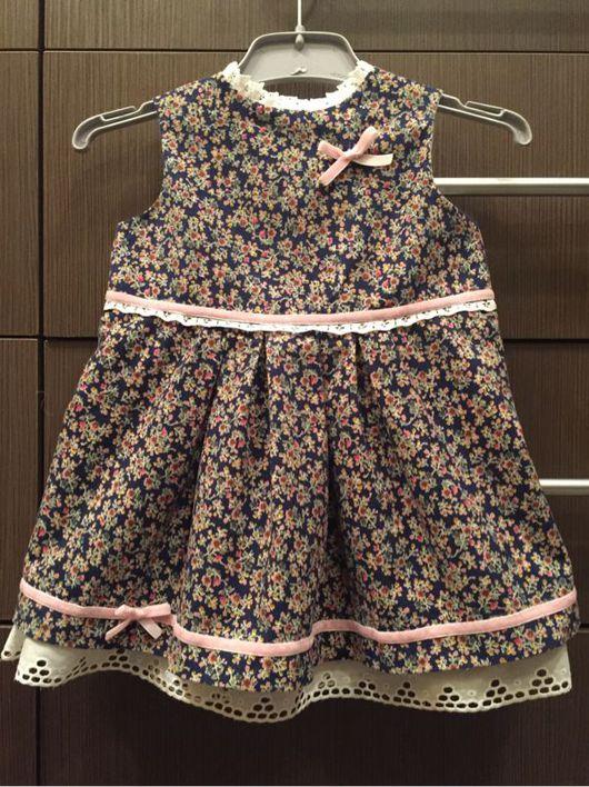Одежда для девочек, ручной работы. Ярмарка Мастеров - ручная работа. Купить Милое платьице для крохотной принцессы. Handmade. Платье