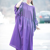 Одежда handmade. Livemaster - original item Dress, Long dress, Purple dress, Beautiful dresses. Handmade.