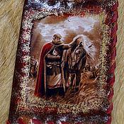Канцелярские товары handmade. Livemaster - original item Leather cover passport
