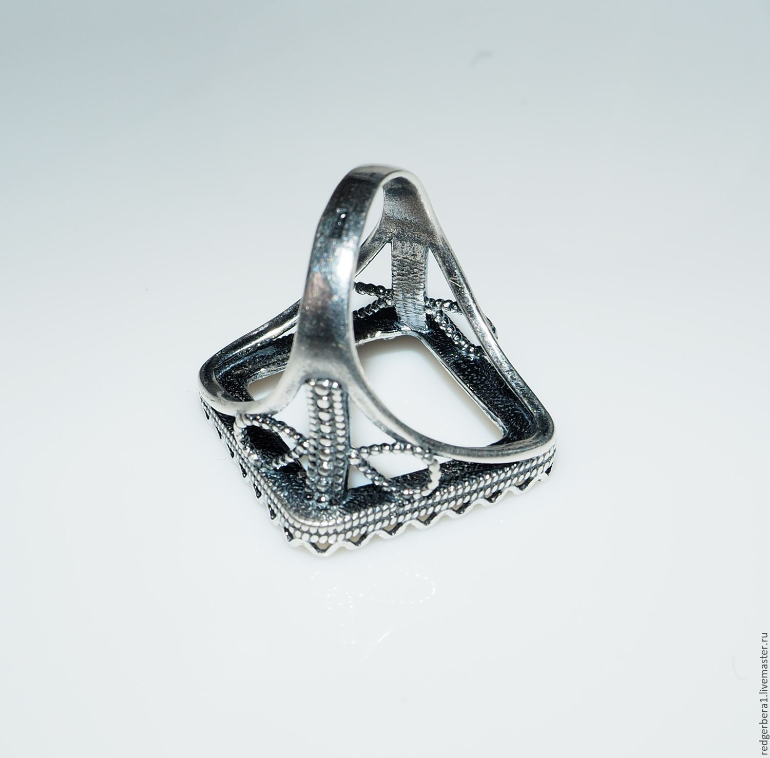 """The basis for the ring """"Celeste"""" 20h20mm silver 925 – shop online"""