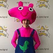 Одежда handmade. Livemaster - original item George Pig costume. Handmade.