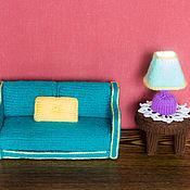 Куклы и игрушки ручной работы. Ярмарка Мастеров - ручная работа Вязаная кукольная мебель. Handmade.