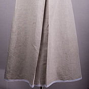 Одежда ручной работы. Ярмарка Мастеров - ручная работа Юбка льняная. Handmade.
