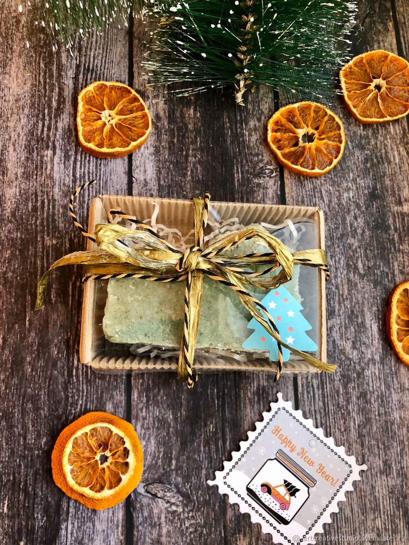 Natural handmade soap in a gift box, Soap, Naberezhnye Chelny,  Фото №1