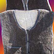 Одежда ручной работы. Ярмарка Мастеров - ручная работа Безрукавки войлочные. Handmade.