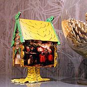 """Для дома и интерьера ручной работы. Ярмарка Мастеров - ручная работа Интерьерный чайный домик """"В гостях у сказки"""". Handmade."""