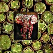 """Украшения ручной работы. Ярмарка Мастеров - ручная работа Прозрачный кулон """"Слон"""" Ювелирная смола. Handmade."""