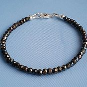 Украшения handmade. Livemaster - original item Bracelet of pyrite and silver 925. Handmade.
