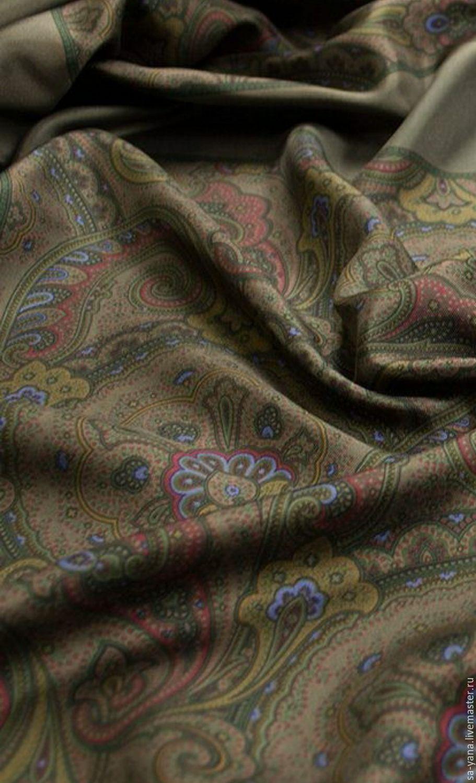 Купить Шелковый платок с принтом Lauren Женские