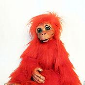 Куклы и игрушки ручной работы. Ярмарка Мастеров - ручная работа Огненная красная обезьяна. Handmade.
