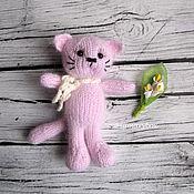 Материалы для творчества handmade. Livemaster - original item MK Bear, kitty, and KNITTING.. Handmade.