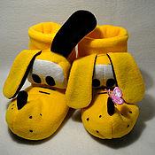 Обувь ручной работы handmade. Livemaster - original item Pluto Slippers. Handmade.