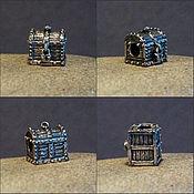 Материалы для творчества handmade. Livemaster - original item Pirates chest charm. Handmade.