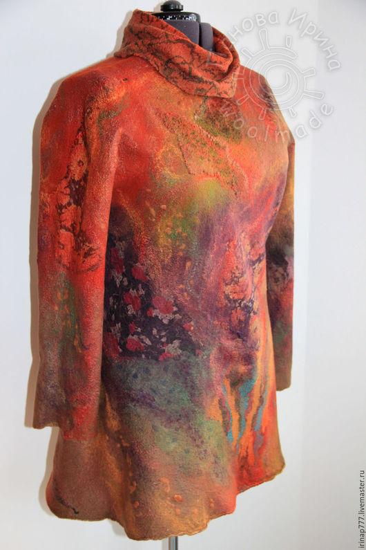 """Кофты и свитера ручной работы. Ярмарка Мастеров - ручная работа. Купить туника """"Заповедный лес"""". Handmade. Абстрактный, одежда для женщин"""
