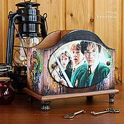 Канцелярские товары handmade. Livemaster - original item Harry Potter, pencil. Handmade.