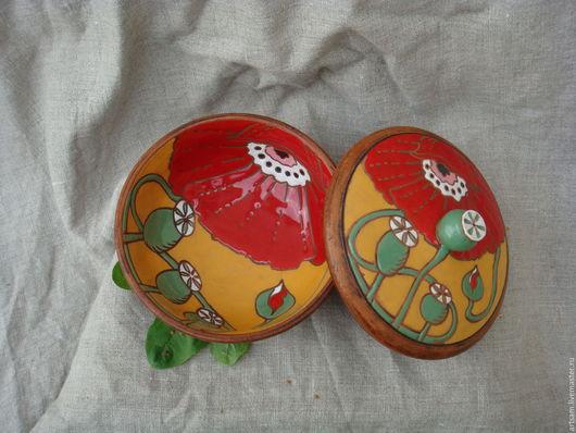 Тарелки ручной работы. Ярмарка Мастеров - ручная работа. Купить Керамическая миска-тарелка с крышкой.. Handmade. Керамическая посуда
