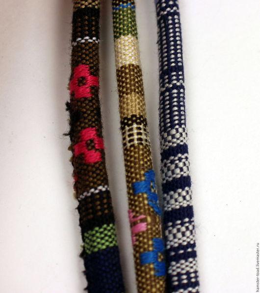 Другие виды рукоделия ручной работы. Ярмарка Мастеров - ручная работа. Купить Шнур тканый с орнаментом. Handmade. Комбинированный, плетеный