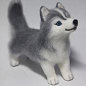 Куклы и игрушки handmade. Livemaster - original item Eve the Husky felted toy. Handmade.