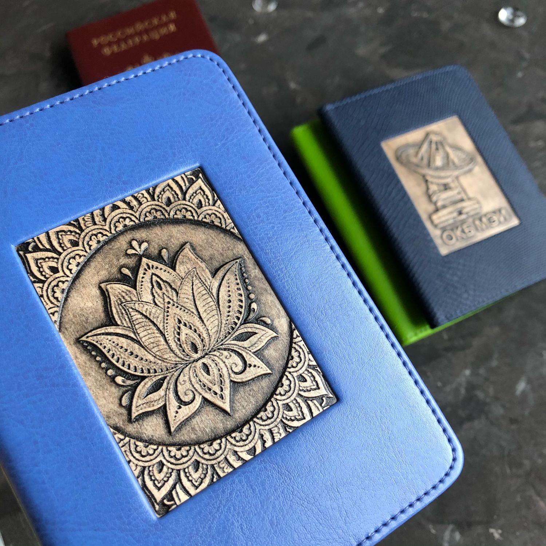 Обложка на паспорт, Блокноты, Москва,  Фото №1