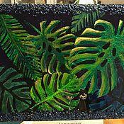 """Панно ручной работы. Ярмарка Мастеров - ручная работа Панно: """"Джуманджи"""". Handmade."""