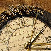 """Для дома и интерьера ручной работы. Ярмарка Мастеров - ручная работа Часы  """" Винтаж """". Handmade."""