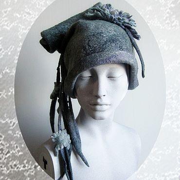 "Accessories. Livemaster - original item Copy of felt hat for girl chapeua ""Freya"".. Handmade."