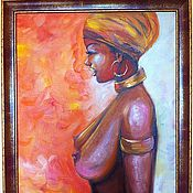 Картины и панно handmade. Livemaster - original item Flaming - oil painting. Handmade.