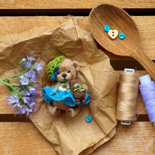 Мишки Тедди ручной работы. Ярмарка Мастеров - ручная работа. Купить Фанни (5,5 см). Handmade. Амигуруми