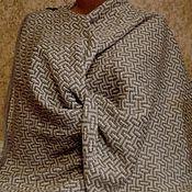 Аксессуары handmade. Livemaster - original item stole made of 100% linen yarn