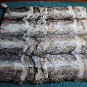 Для дома и интерьера ручной работы. Ярмарка Мастеров - ручная работа Меховое покрывало из волчьих шкур.. Handmade.