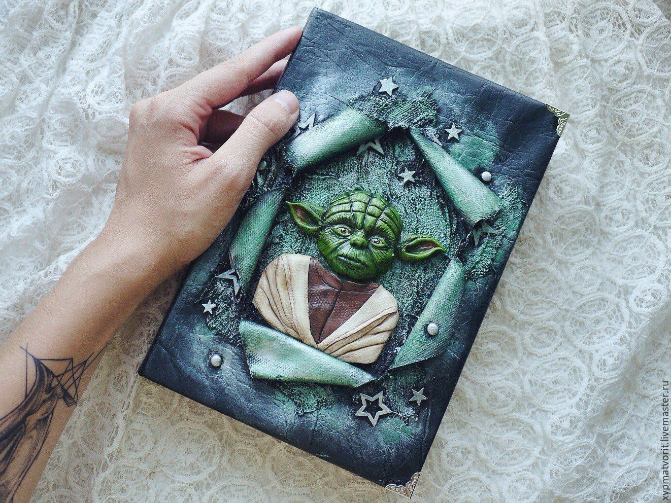 Notebook based on Star Wars master Yoda, Notebooks, Novosibirsk,  Фото №1